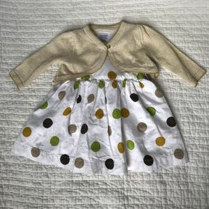 Other - Baby girl dress and sweater